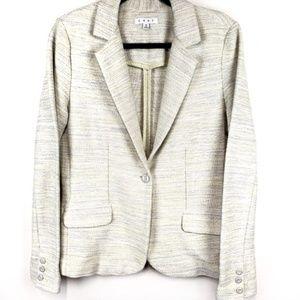 CAbi Lemon Zest tweed blazer style 713 size 10